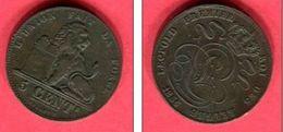 5 CENTIMES 1856   ( KM 5.1 )   TB  6 - 03. 5 Céntimos