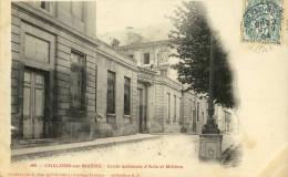 CPA (  51) CHALONS SUR MARNE Ecole National D Arts Et Metiers - Châlons-sur-Marne