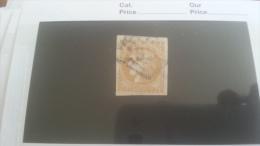LOT 259176 TIMBRE DE FRANCE OBLITERE N�43B DEPART A 1€
