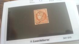 LOT 259196 TIMBRE DE FRANCE OBLITERE N�48 VALEUR 130 EUROS DEPART A 1€