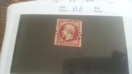 LOT 259197 TIMBRE DE FRANCE OBLITERE N�17A VALEUR 65 EUROS DEPART A 1€