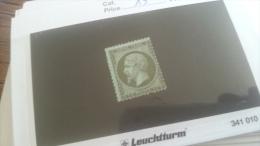 LOT 259199 TIMBRE DE FRANCE NEUF(*) N�19 VALEUR 75 EUROS DEPART A 1€
