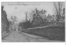 """Annappes (59) - Grand'Rue Et Villa """"Le Pré"""". Petites Taches Haut Gauche, Correspondance Au Dos. - Andere Gemeenten"""