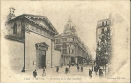 Saint Etienne Perspective De La Rue Gambetta - Saint Etienne