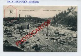 ECAUSSINNES-Carrieres Et Scieries CORNET-Industrie-Periode Guerre-14-18-1 WK-BELGIEN-BELGIQUE-Feldpost- - Soignies