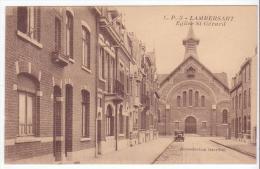 Lambersart (59) - Eglise St-Gérard. Bon état, Sépia, Correspondance Au Dos. - Lambersart