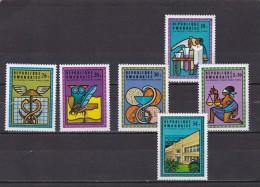 Rwanda n� 654 al 659