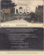 MOLDOVA - Aleia Principala, Moldtelecom Telecard 100 Units, Tirage 20000, 05/05, Used - Moldavie