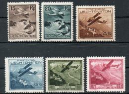 FL 108-113 ** - Flugzeug über Landschaften 1930 - Liechtenstein