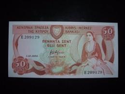 Cyprus UNC,500,50 Sen,1,5 - Cyprus