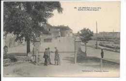 Le Croisic (Loire Atlantique 44) Rare CPA Sortie Du Mont-Esprit (Collection F. Chapeau 84) - Le Croisic