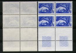 Bloc De 4 N° 1963**_papier Fin Et Transparent - 1977-81 Sabine Van Gandon