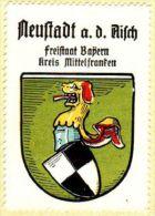 Werbemarke (Reklamemarke, Siegelmarke) Kaffee Hag : Wappen Von Neustadt An Der Aisch - Thé & Café