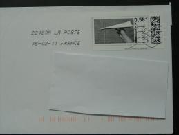 Jeu D'enfant Timbre En Ligne Sur Lettre - E-stamp On Cover 2786 - France