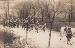 54 Meurthe Et Moselle, BLAMONT Carte Photo Guerre 14-18,  17 Nov 1918, Poteau Frontière - Blamont