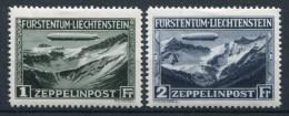 FL 114-115 ** - Graf Zeppelin 1931 - Liechtenstein