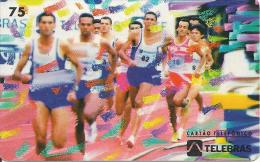 CARTE-MAGNETIQUE-BRESIL-TROPHEE BRASIL 1945-1995-COURSE A PIED-TBE - Sport