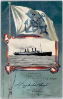 51340867 - M.S. Kronprinz Wilhelm Fahne - Paquebots