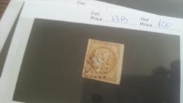 LOT 259317 TIMBRE DE FRANCE OBLITERE  N�43B VALEUR 100 EUROS BOR DE FEUILLE DEPART A 1€