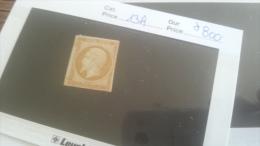 LOT 259318 TIMBRE DE FRANCE NEUF* N�13A VALEUR 800 EUROS