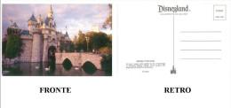 CARTOLINA DISNEYLAND – SWANS IN THE MOAT – STAMP 0100-11703 CONDIZIONI BUONE - Disneyland