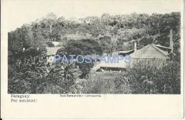 9058 PARAGUAY SAN BERNARDINO VISTA CERVECERIA CERVEZA BEER POSTAL POSTCARD - Paraguay