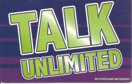 CARTE-PREPAYEE-IRLANDE-TALK UNLIMITED-31/09/05--PAPIER -GRATTE-TBE - Irlanda
