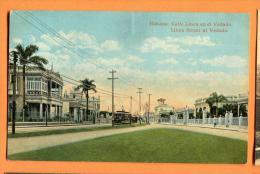 MND-18  Habana Calle Linea En El Vedado.  Non Circulé. Not Used - Cuba