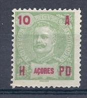 140020233  AZORES  PORTUGAL  YVERT  Nº   100  */MH  NO GUM - Azores