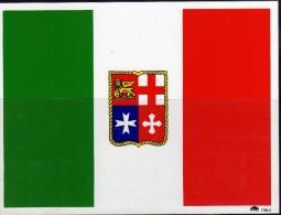 Bandierina Italia Adesiva - Maritime & Navigational