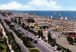 Riccione - Lungomare E Spiaggia - Rimini