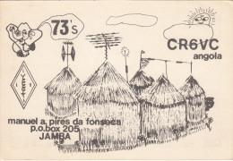 ANGOLA - ITALIA   /  Radioamatore  Stazione Radio _  Amateur Radio Station - Angola