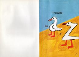 DESSIN  SAVIGNAC 1996 LES MOUETTES Trouville De A à Z   L - Savignac