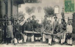 ASSP-4- SAÏGON - Cochinchine - Groupe De Musiciens - Dieulefils - Vietnam
