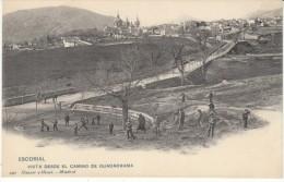 San Lorenzo De El Escorial Spain Vista Of Guadarrama, C1900s Vintage Postcard - Madrid