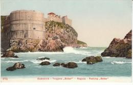 Dubrovnik Croatia, Austro-Hungarian Empire, Bokar Castle Fortress, C1900s Vintage Postcard - Croacia