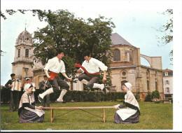 Dax Groupe Folklorique Landais LOU GOUYATS DE L'ADOU - Lou Peyroutoun - Cpm Non Voyagée - Ed Pierron - Danses