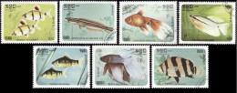 KAMPUCHEA 1985  -    YT   597 à 603  -   Oblitérés - Kampuchea