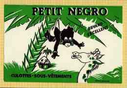 BUVARD & Blotting Paper  :  Culottes Sous Vetements Petit Negro Girafe Vert - Textile & Clothing
