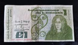 Billet De Un Pound ,515029,  24-10-84 , Irlande - Irlande