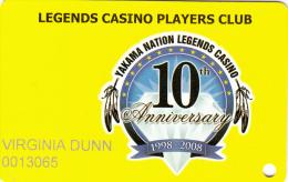 Legends Casino - Players Club - Toppenish - Washington - USA