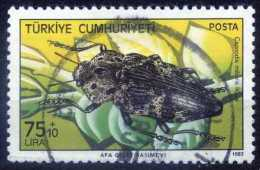 Turkey 1983 - Mi. 2656 O, Capnodis Miliaris | Harmful Insects - Used Stamps