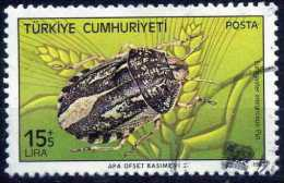 Turkey 1983 - Mi. 2652 O, Sunn Pest/ Corn Bug (Eurygaster Integriceps) | Harmful Insects - Used Stamps