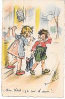 CPA N°1 GERMAINE BOURET- Chic, Bébert,y A Pus D' Savon - Bouret, Germaine