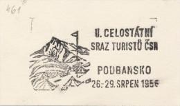 J1456 - Czechoslovakia (1945-79) Control imprint stamp machine (R!): II. statewide meeting tourists Czechoslovakia (CZ)