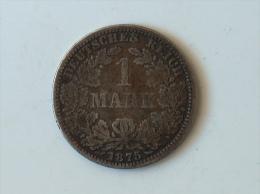 Allemagne Ein 1 Mark 1875 A Argent Silver - [ 2] 1871-1918 : Imperio Alemán