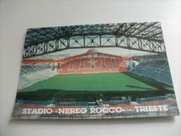 Stadio Stadium   Estadio  Campo Sportivo Campo Calcio TRIESTE STADIO NEREO ROCCO INTERNO INAUGURAZIONE UFFICIALE ANNULLO - Stadiums