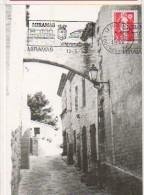 CP - TGV - Miramas En Provence - 12 Juin 1990 - Poste Flamme Souvenir - 141R + TGV - Autres Communes