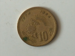 MAROC 10 SANTIMAT 1974 1394 - Maroc
