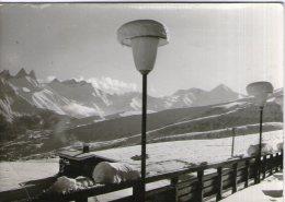 V37 / DPT 73 CPSM DENTELLE 1960 LA TOUSSUIRE LE DAHU CHALET DE PTT  VOYAGEE VOIR DOS - France